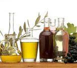 Olivenöle und Essige